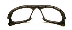 spugna parasudore per occhiali da montagna con lenti specchiate