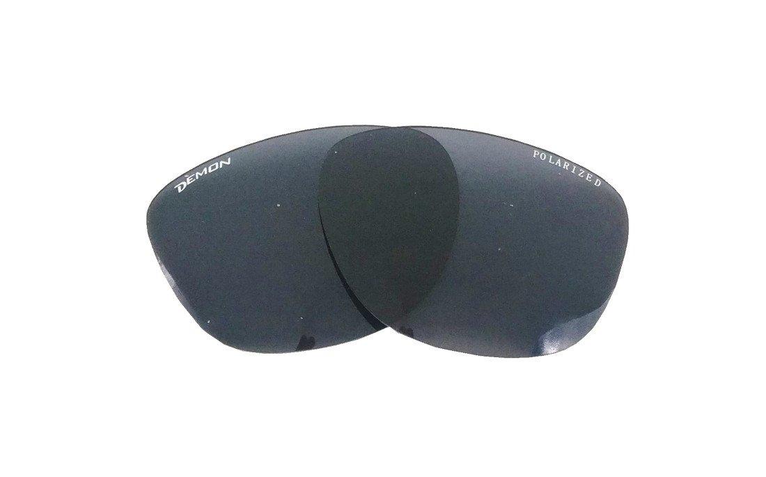 coppia di lenti polarizzate fumo per occhiali sportivi