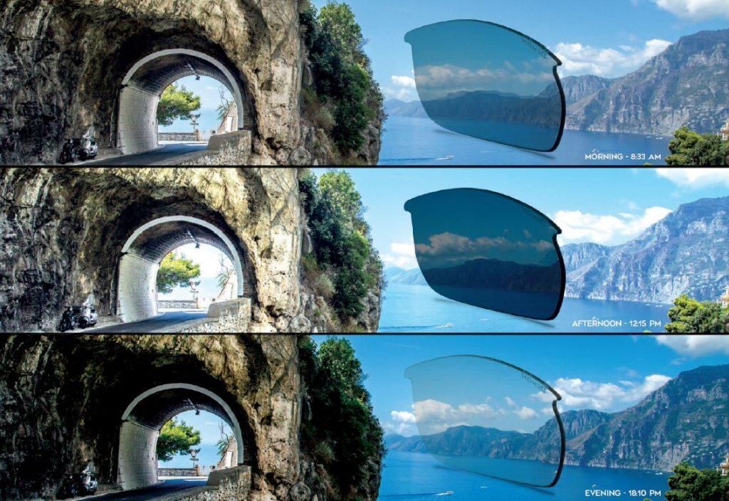 lenti fotocromatiche per occhiali sportivi