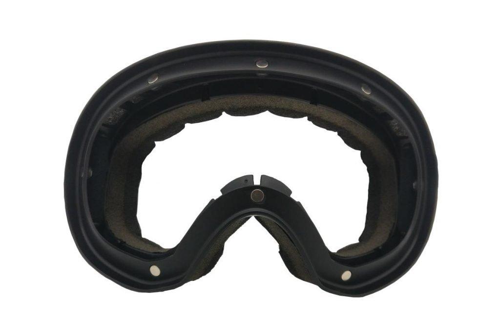 montatura con magneti per maschera da sci magnetica