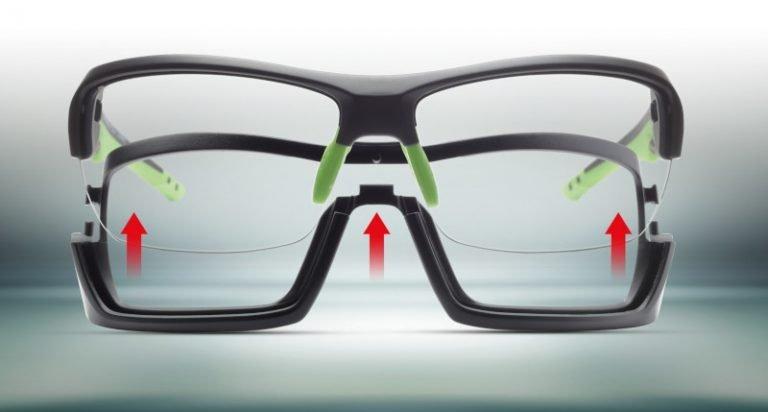 Occhiale da montagna con montatura removibile per escursionismo e alpinismo lente fotocromatica modello RECORD