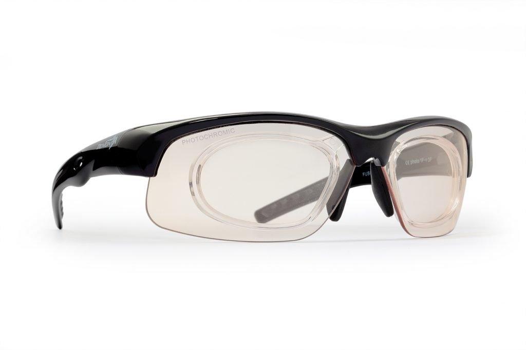 occhiali da vista per giocare a tennis con lenti fotocromatiche
