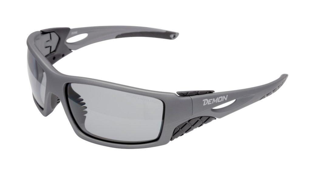 occhiale per alpinismo e scialpinismo fotocormatica polarizzata modello dome nero grigio