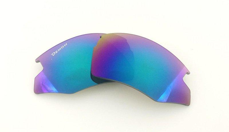 lenti fumo specchiate per occhiali per bici da corsa