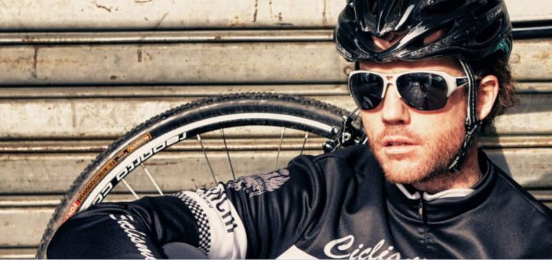 occhiali per bici da corsa con lenti specchiate