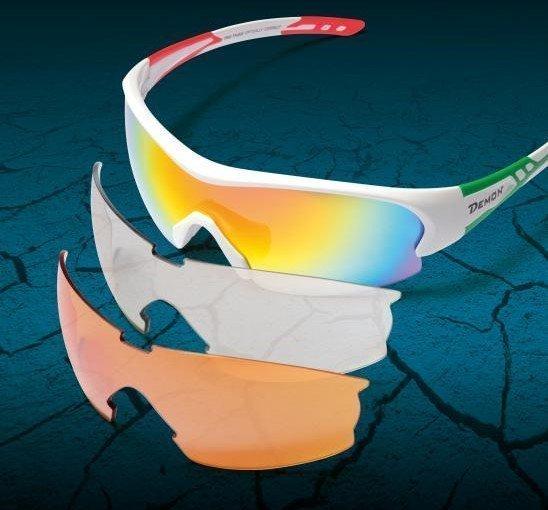 occhiali da ciclismo con lenti intercambiabili per bici da corsa e mtb