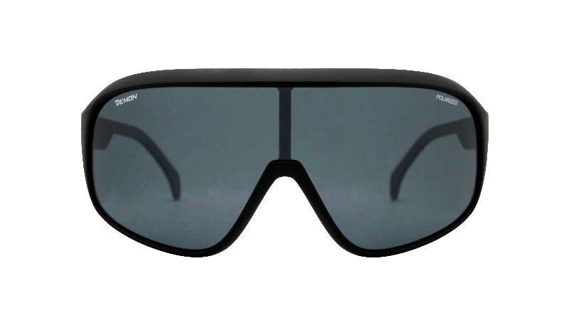 occhiale da ciclismo lente polarizzata colore nero