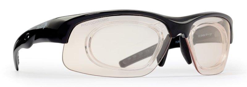 occhiale da vista per mtb con clip ottico graduabile