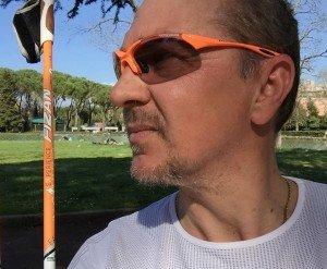 occhiali per nordic walking