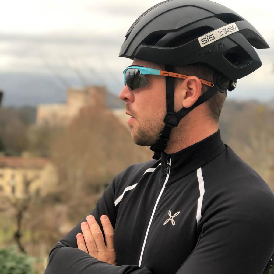 Occhiali da vista per ciclismo su strada e mountain bike con lenti specchiate intercambiabili