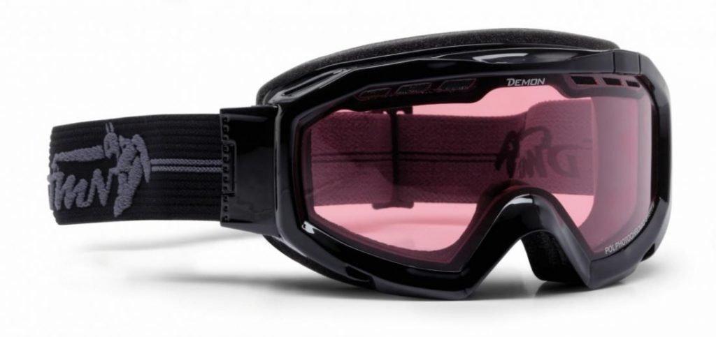 maschera da sci per sciare in ghiacciaio fotocromatica polarizzata modello TOP