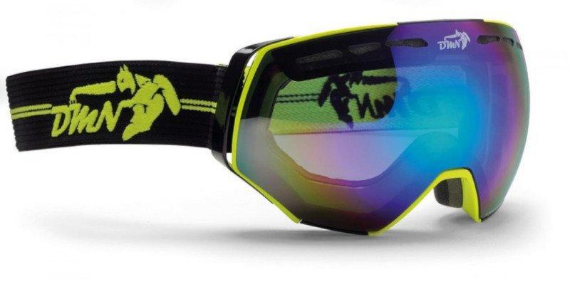 Maschera per sciare in ghiacciaio con lente fumo modello ALPINER