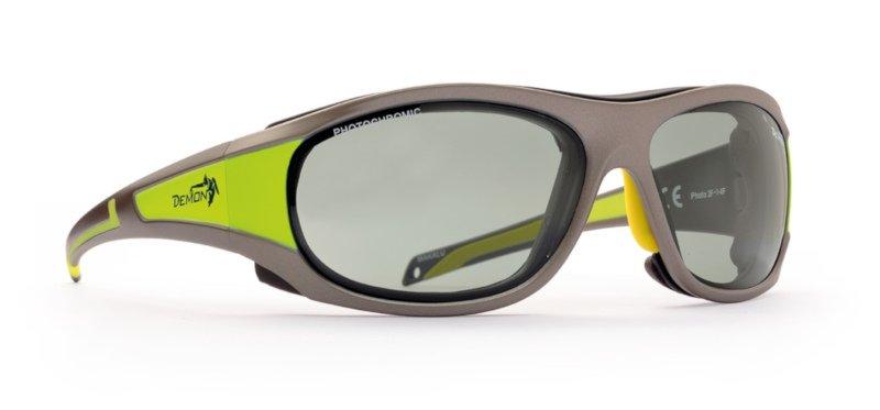 Occhiali da sci con lenti fotocromatiche per sci da discesa