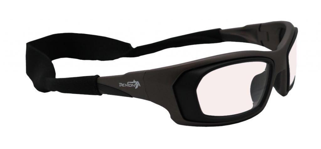 Occhiale da vista per giocare a tennis con cordino elastico grip universale in neoprene
