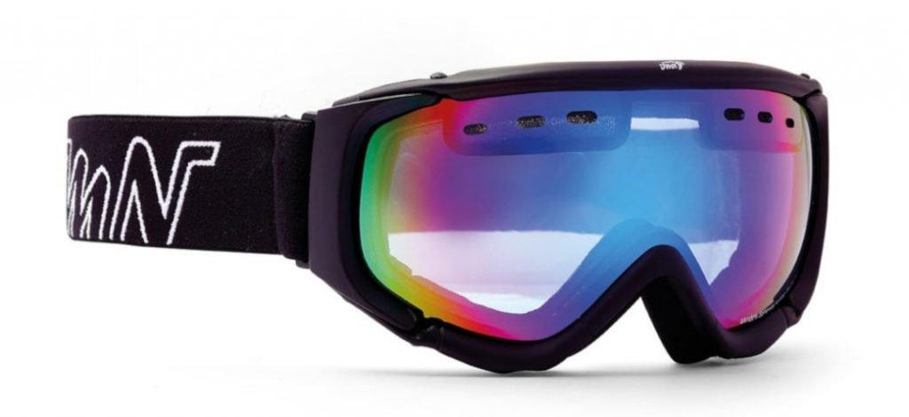 Maschera per scialpinismo con lente arancio modello MATRIX