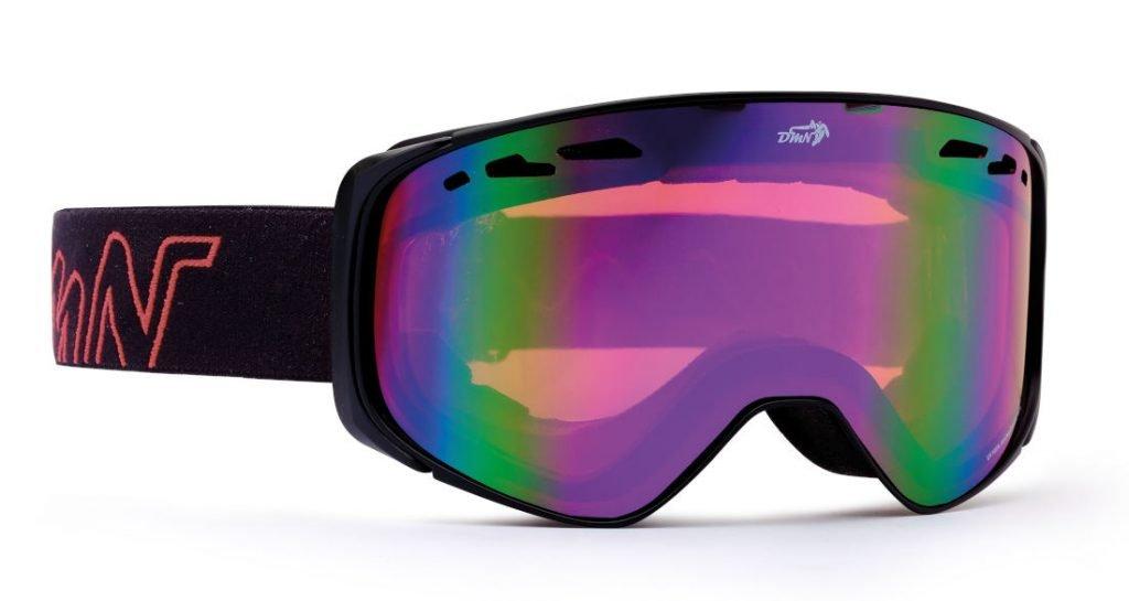 Maschera per scialpinismo per occhiali da vista