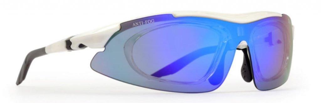 occhiale a mascherina da vista per kayak modello arizona lenti specchiate