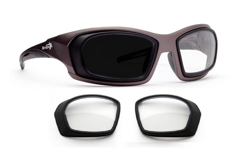 Occhiale da vista graduato per tiro con l'arco e supporti ottici modello VISTA SPORT