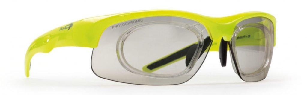 Occhiale da vista kayak lenti fotocromatiche DCHROM modello FUSION