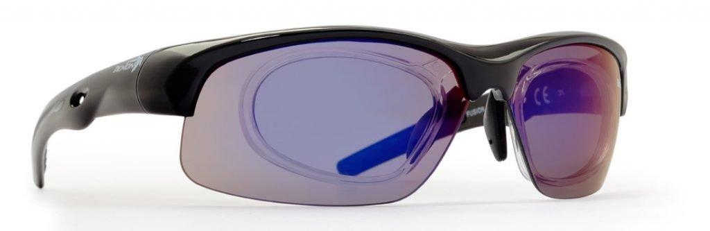 Occhiale da vista per kayak lenti specchiate modello FUSION