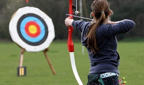 Occhiali sportivi per tiro con l'arco