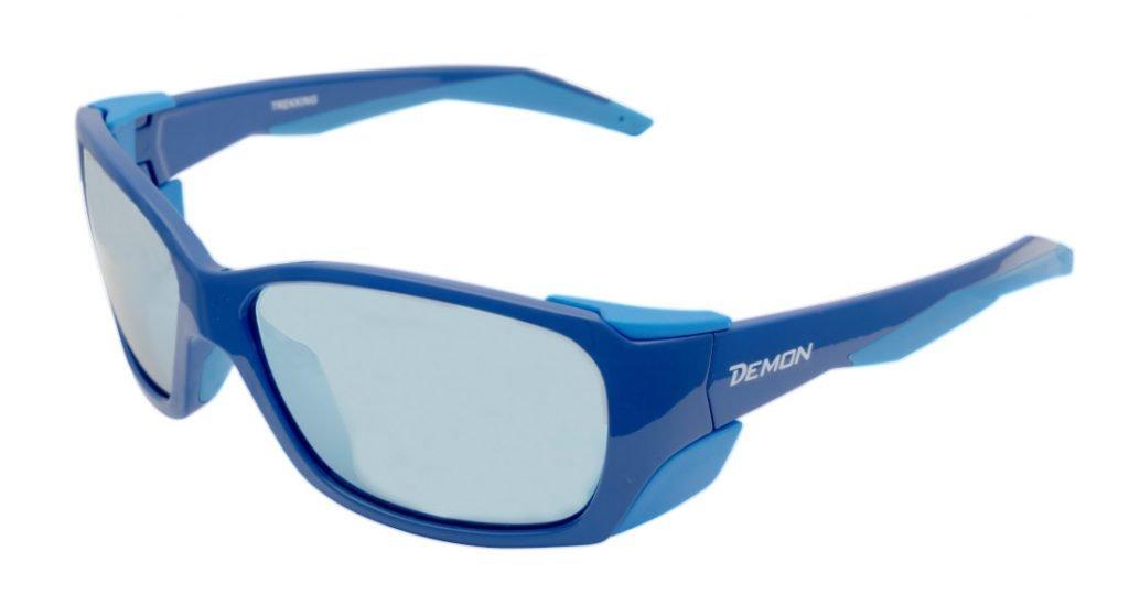 occhiale da trekking unisex per escursioni in montagna modello trekking blu