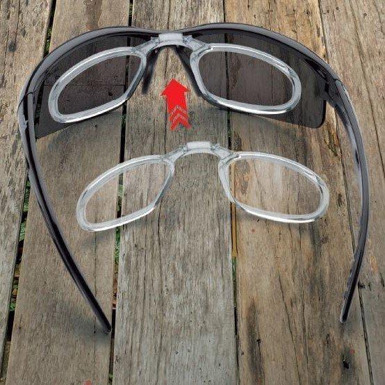 Occhiale polarizzato da vista per tutti gli sport modello FUSION