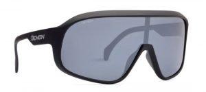 Occhiale da triathlon con lenti polarizzate modello crash nero opaco
