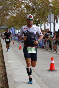 Occhiali da triathlon per la corsa lenti specchiate
